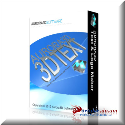 Aurora 3D Text & Logo Maker Portable