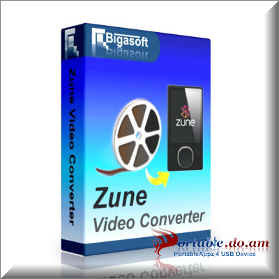 Bigasoft Zune Video Converter Portable