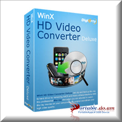 WinX HD Video Converter Deluxe Portable